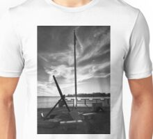 Evening At The Memorial B&W Unisex T-Shirt