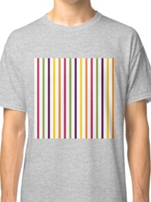 Fruit Tree Stripe Pattern Classic T-Shirt