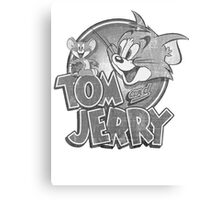 Tom and Jerry Canvas Print