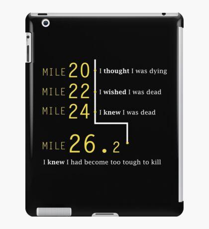 Marathon Runner iPad Case/Skin