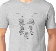 The Lego Patent Of Minifigurine In Black Version Unisex T-Shirt