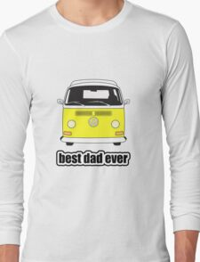 Best Dad Ever Yellow Early Bay Long Sleeve T-Shirt