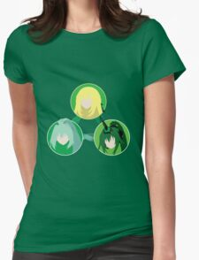EXE Evolution - Green Womens Fitted T-Shirt