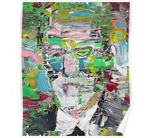SIGMUND FREUD portrait Poster