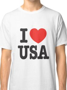 I Love USA - United State Classic T-Shirt