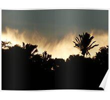 sunrise in puerto vallarta - amanecer en puerto vallarta Poster