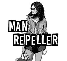 MAN REPELLER Photographic Print