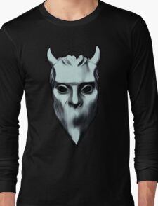 NAMELESS GHOUL - silver oil paint T-Shirt