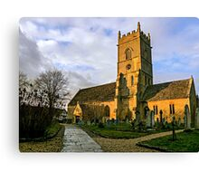 Beckford Church Canvas Print