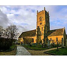Beckford Church Photographic Print