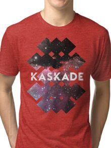 Kaskade Galaxy Black Tri-blend T-Shirt