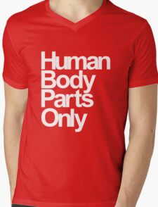 Human Body Parts Only Mens V-Neck T-Shirt