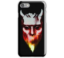 NAMELESS GHOUL - flames oil paint iPhone Case/Skin