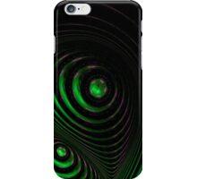 Spiral green iPhone Case/Skin