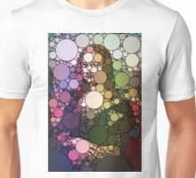 Bubble Art Mona Lisa Unisex T-Shirt