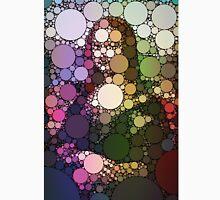 Bubble Art Mona Lisa Unisex T-Shirt