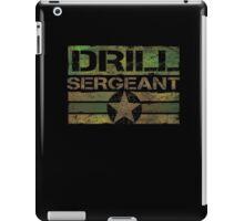 Drill sgt t shirt iPad Case/Skin