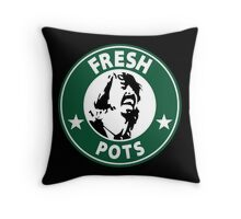 Fresh Pots Throw Pillow