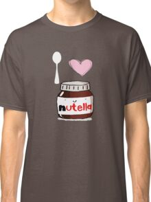 i love nutella Classic T-Shirt