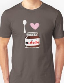 i love nutella Unisex T-Shirt