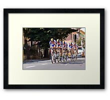 Rabobank Development Team Framed Print