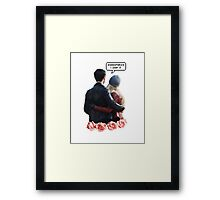 They ship it. We ship it. So canon. Framed Print