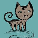 I'm a Simple Cat by Silvia Neto