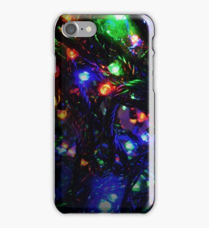 Multi colour Fairy Lights iPhone Case/Skin