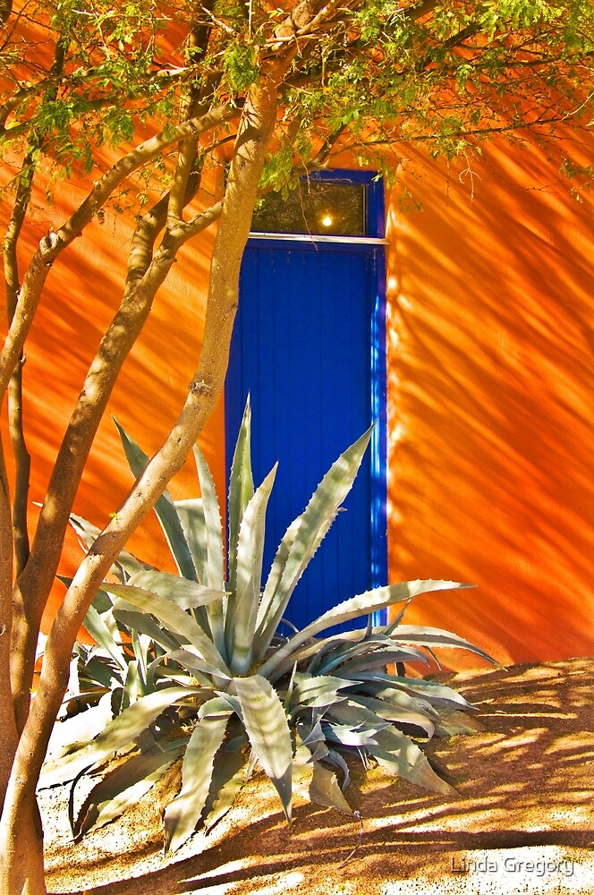 Blue Door by Linda Gregory
