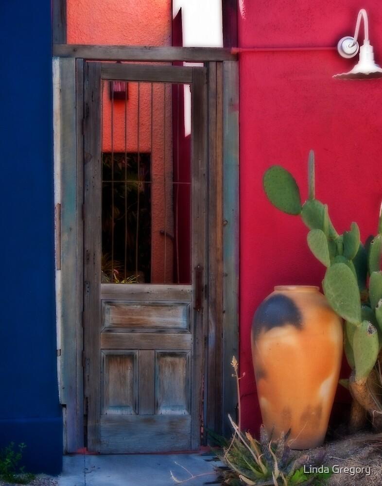 Door with Olla by Linda Gregory