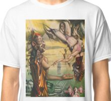 Transgender Buddha Facing Mara Classic T-Shirt