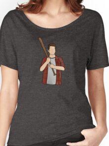 Stiles Stilinski / Dylan O'Brien / Teen Wolf / Baseball Bat Women's Relaxed Fit T-Shirt