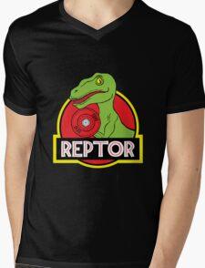 Raptor Reps Mens V-Neck T-Shirt