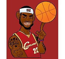 lebron james clevland Photographic Print