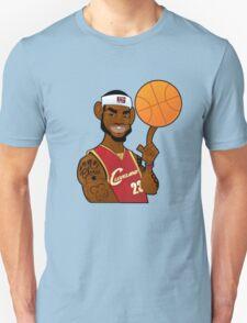 lebron james clevland T-Shirt