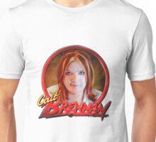 Cait Brennan - Debutante Glam-inspired cover image Unisex T-Shirt