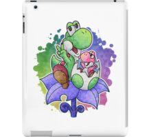 Yoshi and Baby Yoshi iPad Case/Skin