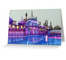 Pavilion Pink and Ice Rink Greeting Card