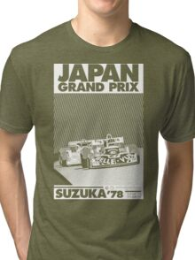 japan grand prix  Tri-blend T-Shirt