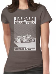 japan grand prix  Womens Fitted T-Shirt