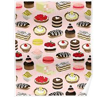 Patisserie Sweets by Andrea Lauren  Poster