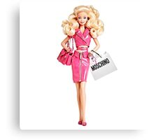 barbie pink Canvas Print