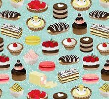 Patisserie Sweets by Andrea Lauren  by Andrea Lauren