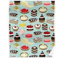 Patisserie Sweets by Andrea Lauren  Poster