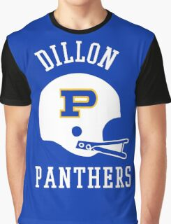 Dillon Panthers Football  Graphic T-Shirt