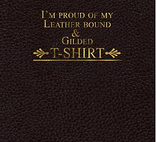 Exclusive Luxury Leather bound and Gilded Cotton by patjila