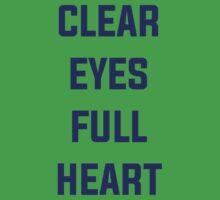 Clear Eyes, Full Heart Baby Tee