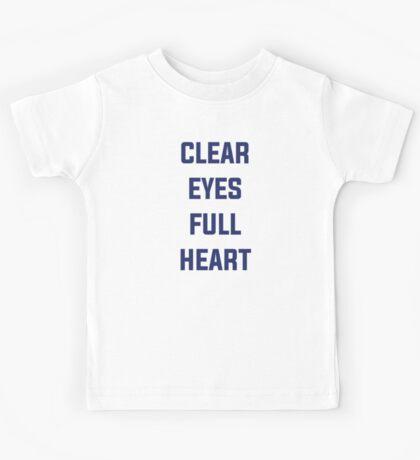Clear Eyes, Full Heart Kids Tee