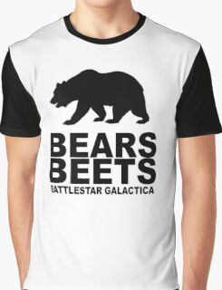 Bears Beets Battlestar Galactica Graphic T-Shirt