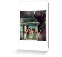pretty little doll house  Greeting Card